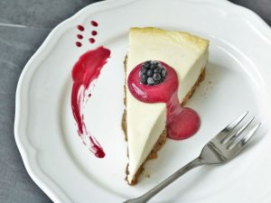 Cheesecake mit Brombeer